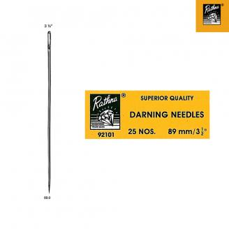 Agujas de zurcir largas / darning needles (en sobres). Rathna