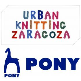 Pony en Urban Knitting Zaragoza